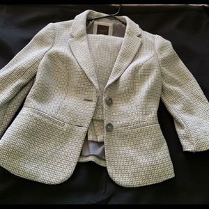 The Limited tweed skirt suit
